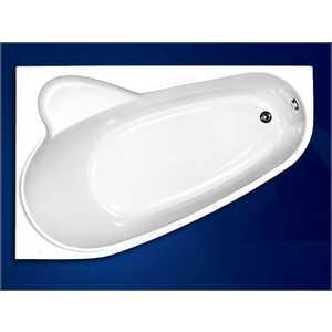 Акриловая ванна Vagnerplast Selena 160x105 левая акриловая ванна eurolux вавилон 170x120x50 l левая