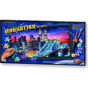 Раскраска по номерам Schipper ''Ночной Манхеттен'' 40х80см 9220369