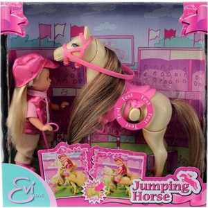Кукла Simba Evi Love Еви на прыгающей лошади 5730945