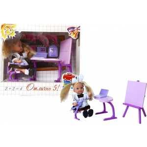 Кукла Simba Evi Love Еви-школьница + парта + аксессуарами, 2 вида 5739124