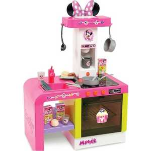 Smoby Кухня Cheftronic Minnie, звук, свет, 47х28х62 см 24197