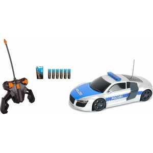 Dickie Полицейский патруль на радиоуправлении, свет, звук 19059 dickie полицейский патруль на р у 2 х канальный 1 16 28см св зв 4 12