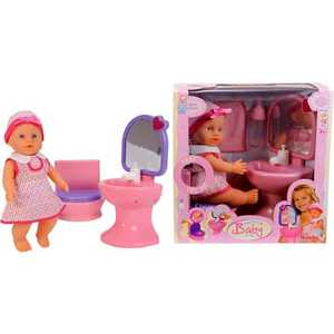 Simba Пупс с раковиной и туалетом 5035994