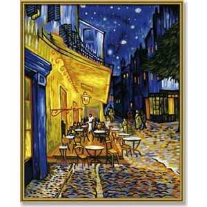 Раскраска по номерам Schipper ''Ночное кафе'' 40х50см Ван Гог 9130359