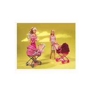 Simba Steffi Love Штеффи с коляской, 2 вида 5738060