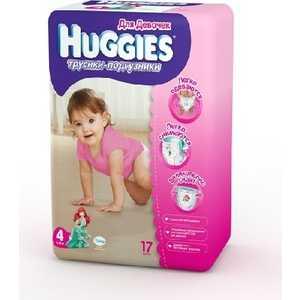 Трусики-подгузники Huggies 9-14кг 17шт для девочек 5029053543970