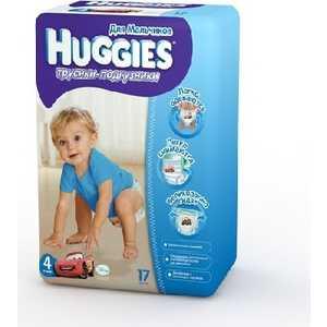 Трусики-подгузники Huggies 9-14кг 17шт для мальчиков 5029053543963