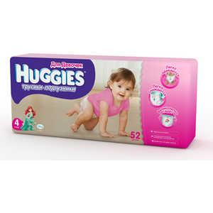 Трусики-подгузники Huggies ''Mega'' 9-14кг 52шт для девочек 5029053543406