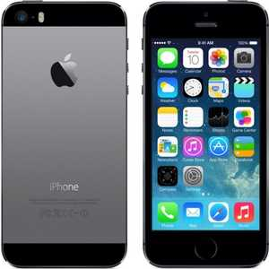Смартфон Apple iPhone 5S 16Gb Space Grey LTE