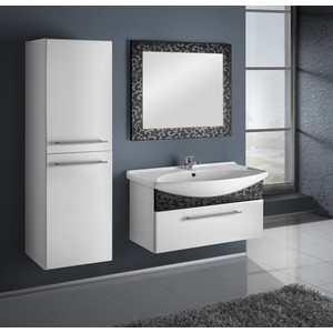 Комплект мебели Dreja Ornament 65 черный пенал высокий береза lafutura dreja 94457