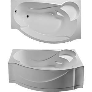 Акриловая ванна Eurolux Александрия 170x110x45 R правая eurolux акриловая ванна eurolux карфаген 170 75