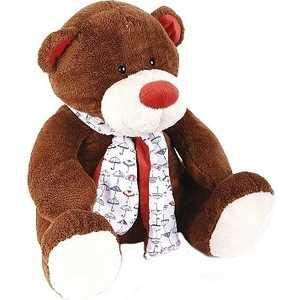Gulliver Медвежонок Тимоша, коричневый, 28 см 42-120168