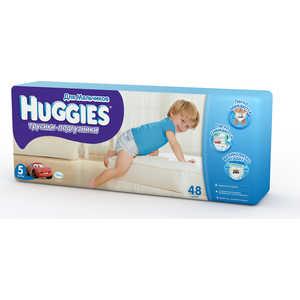 Трусики-подгузники Huggies ''Mega'' 13-17кг 48шт для мальчиков 5029053543437