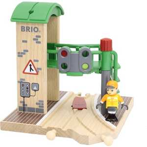 Станция Brio 2 элемента (сигнальная с переключателем светофоров) 33674
