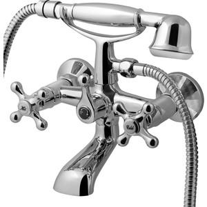 Смеситель для ванны Am.Pm Bourgeois излив 161 мм, лейка полностью хромированная (F6510000) смеситель для ванны душа излив 350мм аксессуары хром квадро smartsant sm163502aa