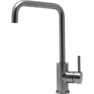 Смеситель для кухни Lemark Эксперт с поворотным изливом сталь (LM5077S) смеситель для кухни kludi l ine с выдвижным изливом 428210577