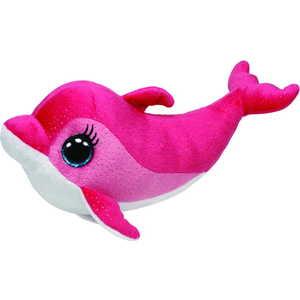 Дельфин Ty Inc Surf 23 см. Beanie Boo's 36996 игрушка мягкая ty inc beanie boo s белый тюлень icing 25 см 37046