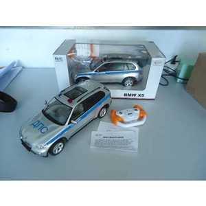 Rastar Машина на радиоуправлении 1:14 BMW X5 полицейская, со светом 23200-4