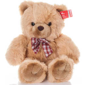 Купить aurora Медведь с клетчатым бантом 80 см 11-415 (280571) в Москве, в Спб и в России