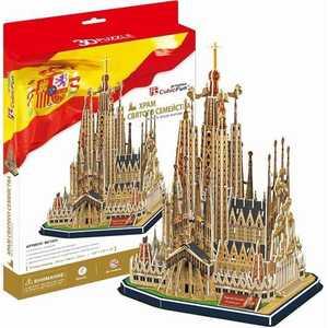 Пазл CubicFun Храм Святого Семейства (Испания) MC153h