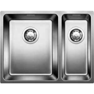 Мойка кухонная Blanco Andano 340/180-u с клапаном-автоматом левая (518322)  мойка andano 340 180 if left 518324 blanco