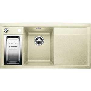 Мойка кухонная Blanco Axia II 6 s чаша слева жасмин с клапаном-автоматом (516833) от ТЕХПОРТ
