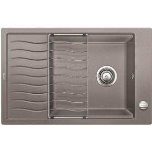 Мойка кухонная Blanco Elon xl 6 s алюметаллик с клапаном-автоматом (518737) смеситель для мойки blanco actis coffee