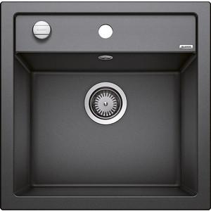 Мойка кухонная Blanco Dalago 5 антрацит с клапаном-автоматом (518521)  кухонная мойка blanco dalago 45 антрацит