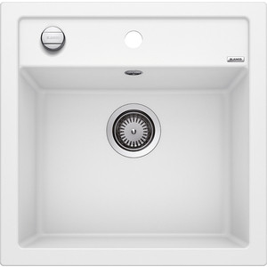 Мойка кухонная Blanco Dalago 5 белый с клапаном-автоматом (518524) blanco dalago 5 жасмин с клапаном автоматом 518525