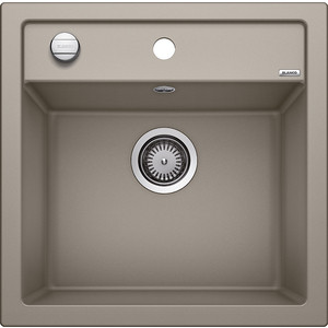 Мойка кухонная Blanco Dalago 5 серый беж с клапаном-автоматом (518528) blanco dalago 5 жасмин с клапаном автоматом 518525