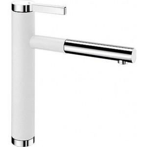 Смеситель для кухни Blanco Linee-s белый / (518441) смеситель linee chrome 517594 blanco