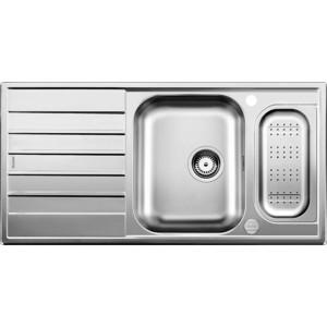 Мойка кухонная Blanco Livit 6 s centric с клапаном-автоматом (516191) blanco andano 340 180 u с клапаном автоматом левая 518322