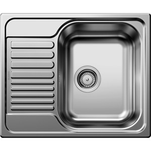 Мойка кухонная Blanco Tipo 45 S Mini нержавающая сталь матовая (516524) blanco tipo 45 s compact полированная сталь