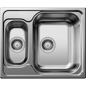 Мойка кухонная Blanco Tipo 6 матовая (511949) кухонная мойка blanco tipo 6 basic нерж сталь матовая