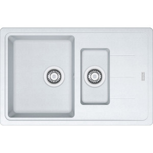 Мойка кухонная Franke Bfg 651-78 вент-авт белый (114.0280.893)  franke jag 651 белый