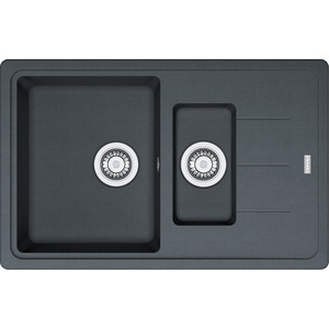 Кухонная мойка Franke BFG 651-78 графит (114.0280.884) 114 0175 358 мойка кухонная rog 610 41 сахара ronda franke