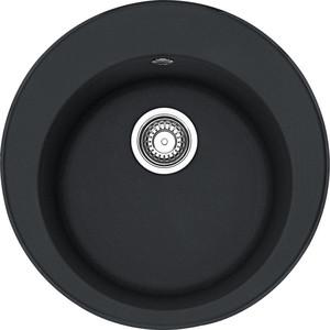 Кухонная мойка Franke ROG 610 оникс (114.0263.253) мойка круглая стандарт d480х190мм черный гранит