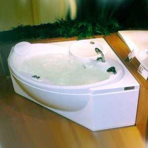 Ванна с г/м Jacuzzi Celtia с пан 150x150 смесит подушка дезинф подсветка (9F43-141A)