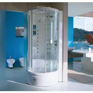 Душевая кабина Jacuzzi Flexa tower elt8 90х90х232 см (9447-131A)