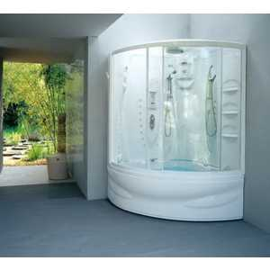 Душевая кабина Jacuzzi Flexa twin elt11, 140х140х228 см, с дезинфекцией (9H48-098A)