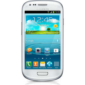 Мобильный телефон Samsung Galaxy S III mini ceramic white (GT-I8190RWASER)