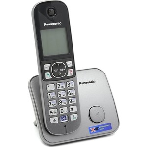 Радиотелефон Panasonic KX-TG6811RUM радиотелефон panasonic kx tg8061rub