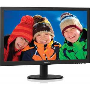 Монитор Philips 193V5LSB2 (62/10) philips 193v5lsb2