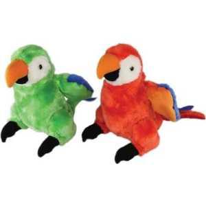 Попугай 1Toy прыгает машет крыльями Т56401
