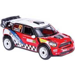 Bburago Машина 1:32 Rally WRC Mini Countryman WRC (команда 52) 18-41043