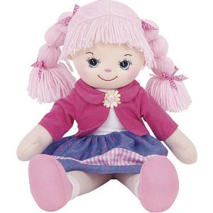 Gulliver Кукла Земляничка с двумя косичками 30 см 30-BAC6891 gulliver кукла апельсинка в платье с сердечками 40см 30 11bac3497