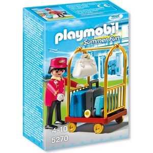 Playmobil Отель: Носильщик с чемоданами 5270pm