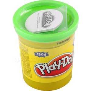 Пластилин Hasbro Play-Doh. 1 банка, зеленый 22002