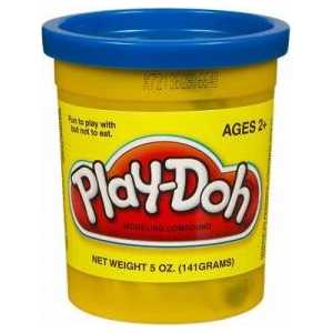 Пластилин Hasbro Play-Doh. 1 банка, синий 22002