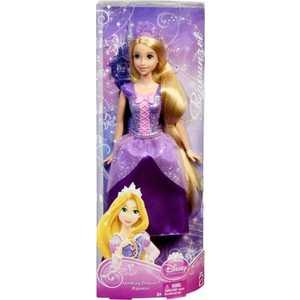 Mattel Кукла Disney Принцесса - Рапунцель в сверкающем наряде - коллекция BBM05
